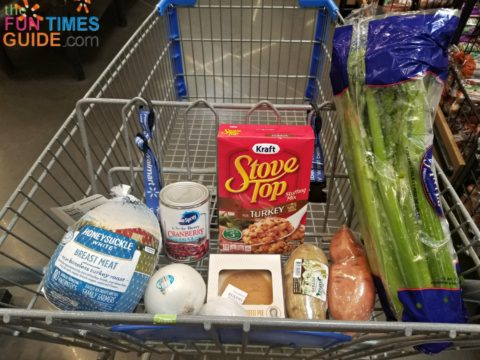 Everything you need for your RV Thanksgiving dinner for 4!