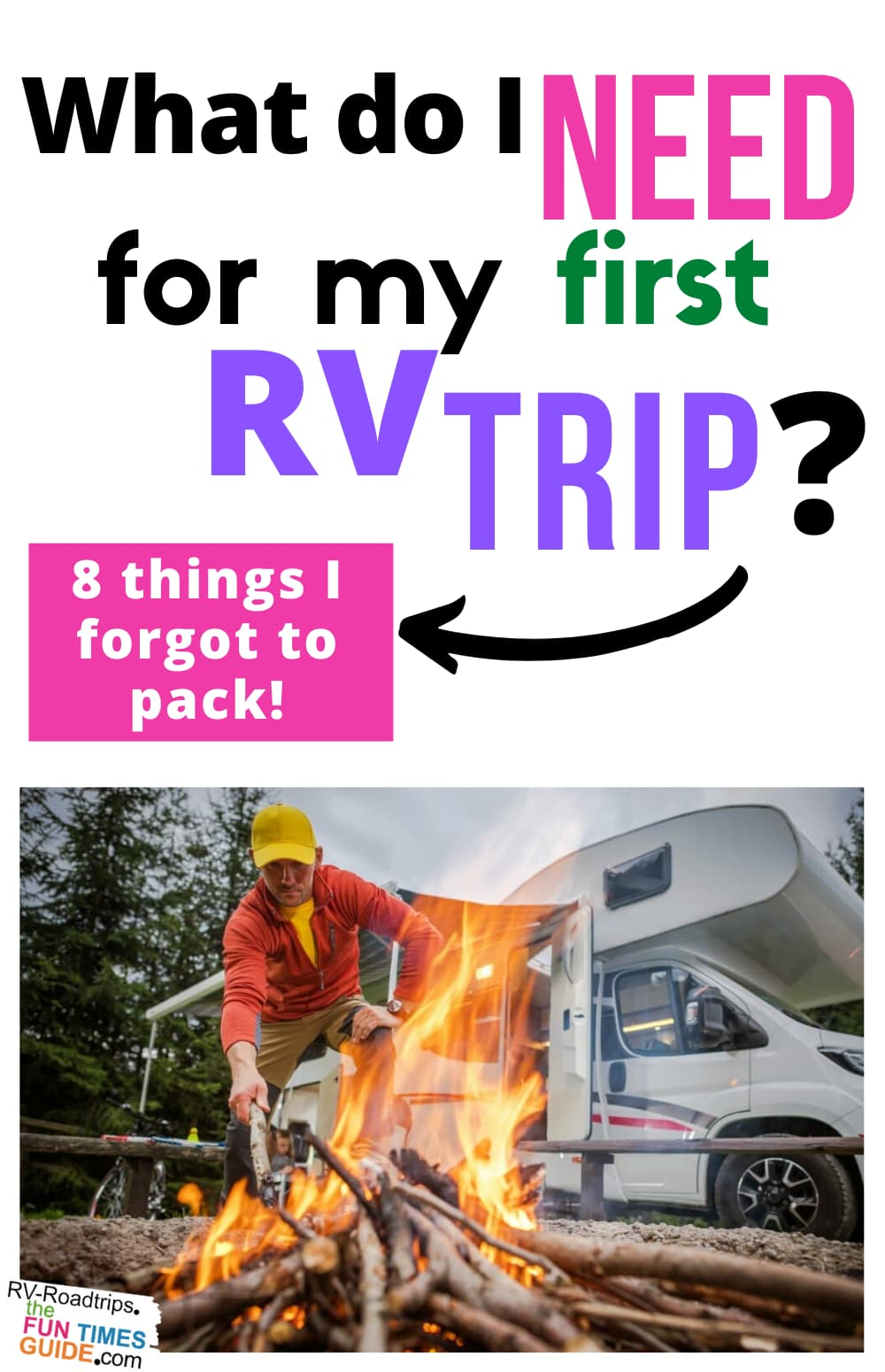 8 Items I Wish I Had On My Very First RV Trip! (Must-Have RV Supplies)
