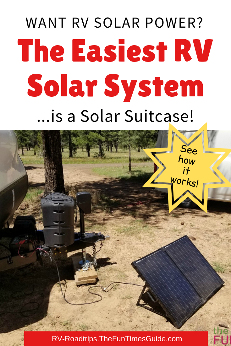 An RV Solar Suitcase Is A Super Simple RV Solar System That Requires No Electrical Knowledge… At All!