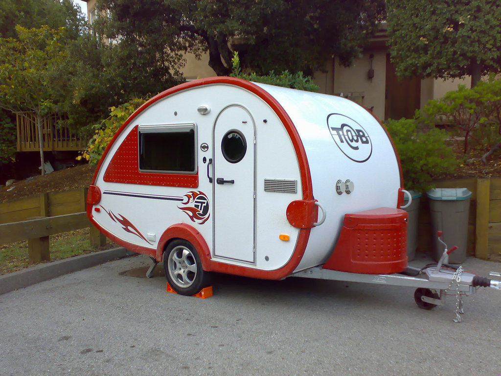 Custom Made Teardrop Trailer By Freshelectrons