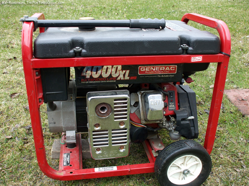 generac rv generators generacrvgeneratoraportablervgeneratorjpg tips for keeping rv generators working properly the rving guide