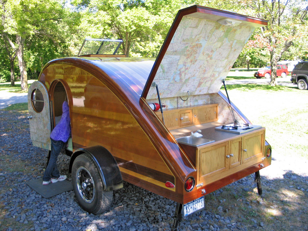Homemade Teardrop Trailer Plans