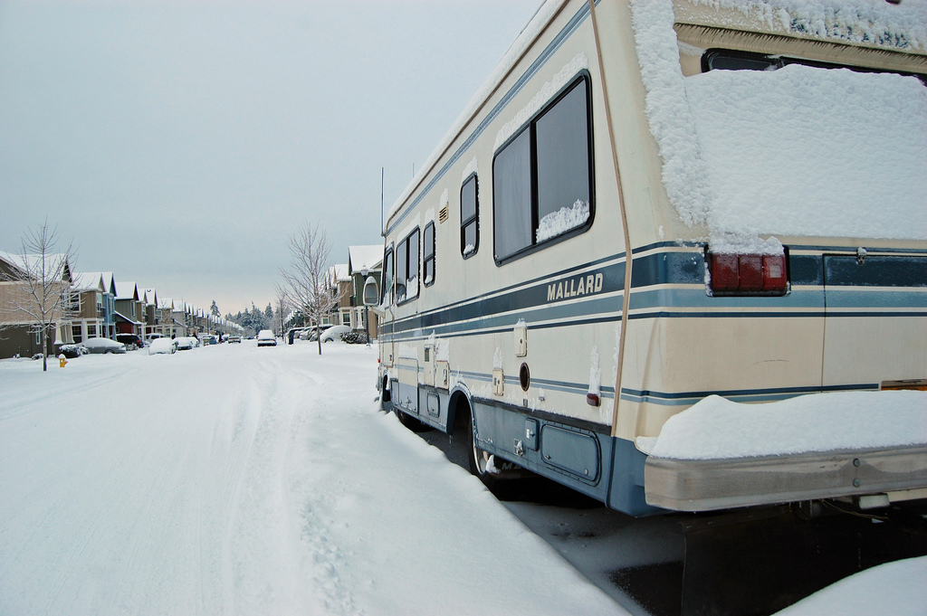 Winter Snow Load Can Seriously Damage Your Rv The Rving