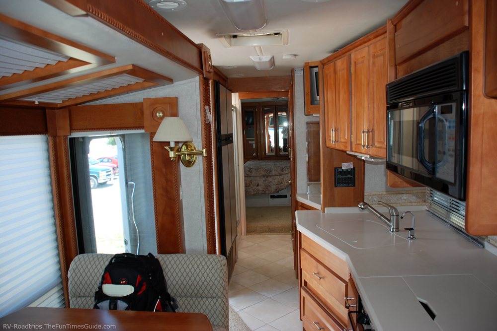 Motorhome Slideout In Living Room