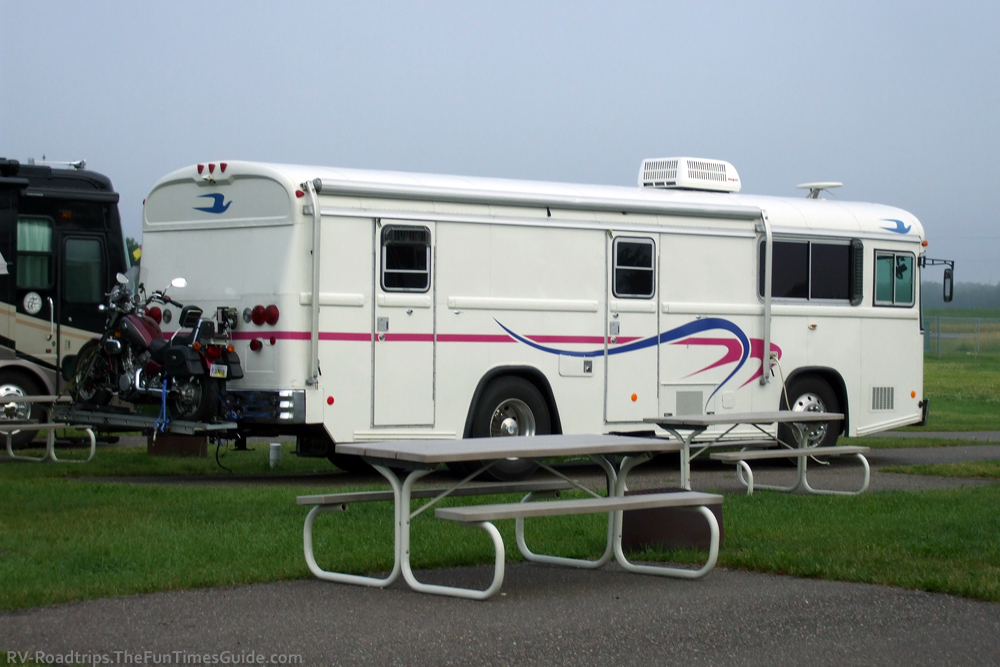 Motorcycle Carriers For Rv ... RV Bike, Carrier, or RV Bicycle Rack? How About An RV Motorcycle Lift
