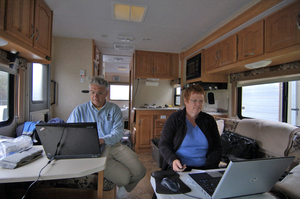 Lovely Rv Office By Dave Bezaire Susi Havens Bezaire.