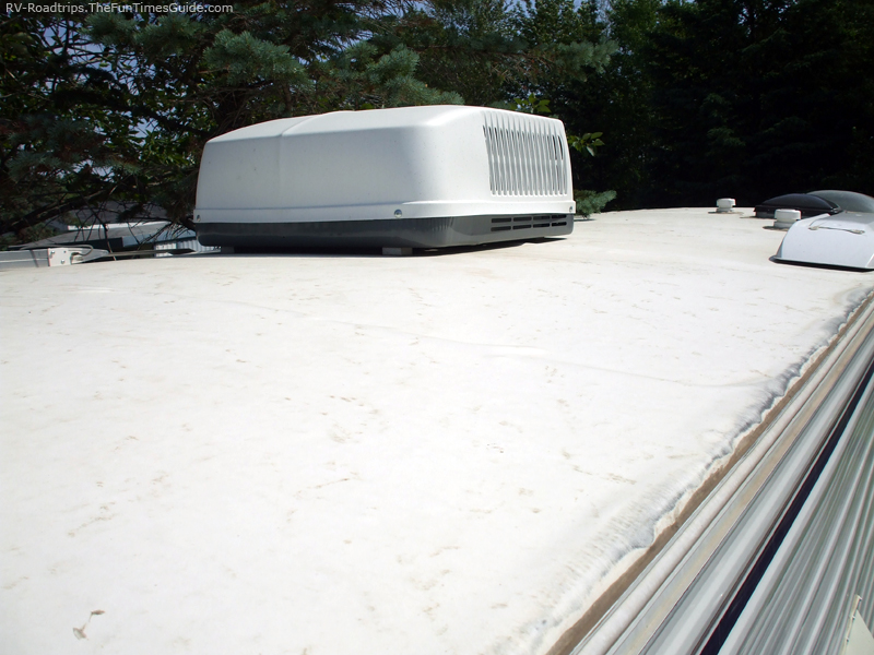 Replacement Rubber Roof For Camper 67