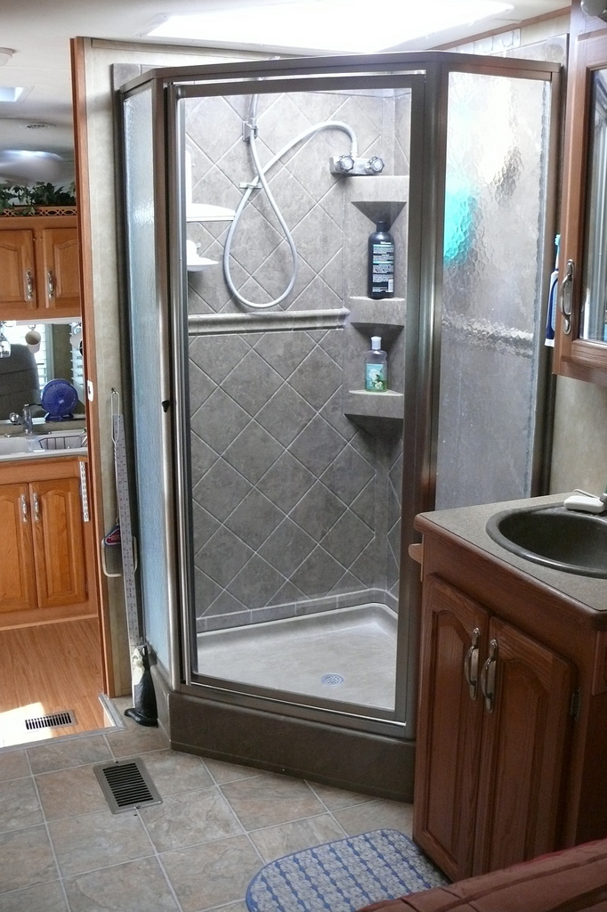 Rv Shower By Larry Page
