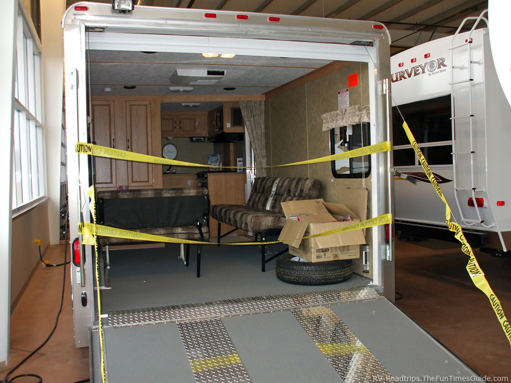 Fun ways to use toy hauler trailers when rving the rving for Motor home toy haulers