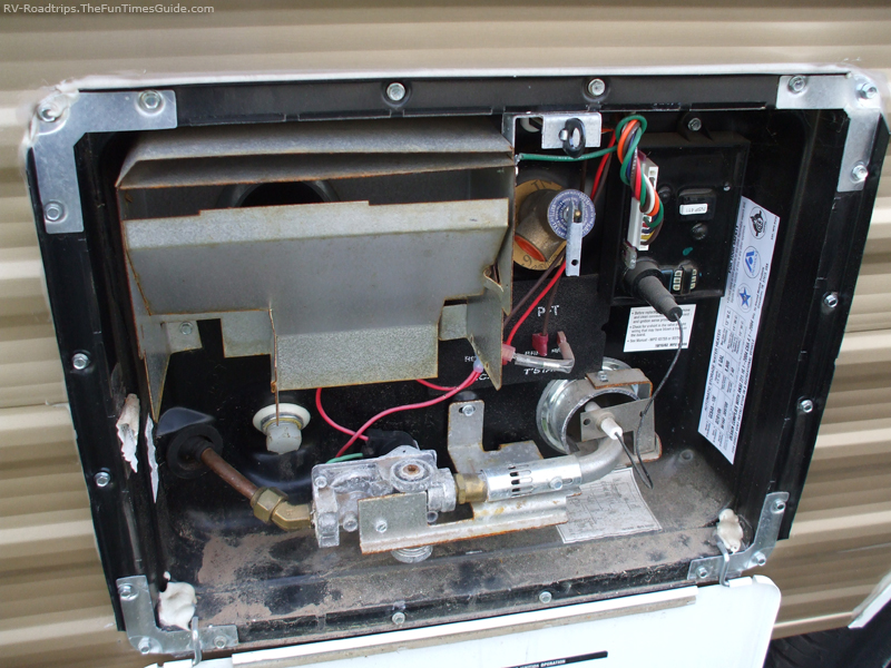 Hot Water Tank How To Turn It On Irv2 Forums