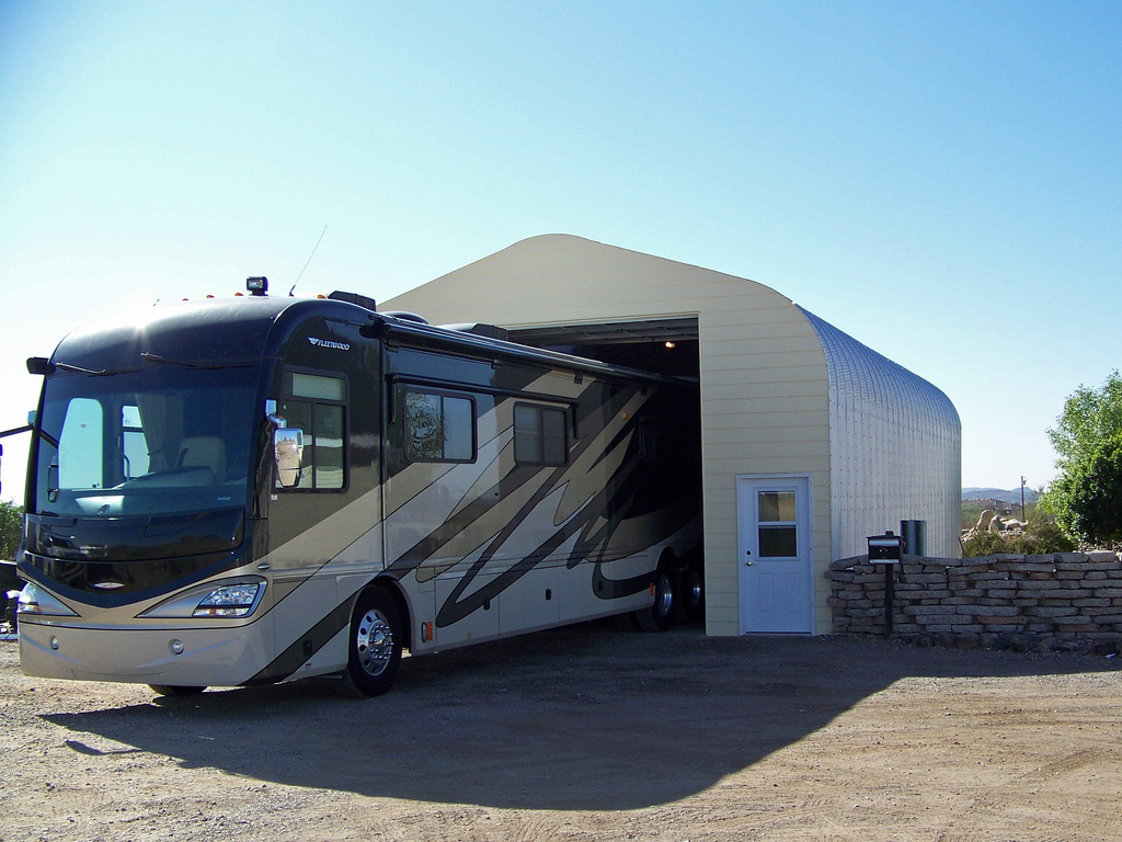 Winter rv tip how to winterize your rv better than an rv for Motorhome storage building